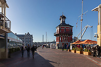 South Africa, Cape Town,Victoria&Alfred waterfronf,Clock Tower Waterfront