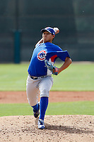 Oswaldo Martinez - Chicago Cubs - 2009 spring training.Photo by:  Bill Mitchell/Four Seam Images
