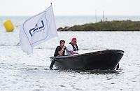LEN Boat<br /> Hoorn, Netherlands <br /> LEN 2016 European Open Water Swimming Championships <br /> Open Water Swimming<br /> Women's 5km<br /> Day 02 12-07-2016<br /> Photo Giorgio Perottino/Deepbluemedia/Insidefoto