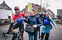race winner  Fabio Jakobsen (NED/Deceuninck Quick Step)<br /> <br /> GP Monseré 2020<br /> One Day Race: Hooglede – Roeselare 196.8km. (UCI 1.1)<br /> Bingoal Cycling Cup 2020