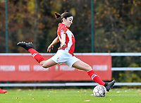 Noemie Gelders of Standard (10) pictured during a female soccer game between Standard Femina de Liege and Club Brugge YLA on the seventh matchday of the 2020 - 2021 season of Belgian Scooore Womens Super League , saturday 14 th of November 2020  in Angleur , Belgium . PHOTO SPORTPIX.BE | SPP | DAVID CATRY