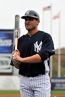Feb 24, 2010; Tampa, FL, USA; New York Yankees  catcher Francisco Cervelli (29) during  team workout at George M. Steinbrenner Field. Mandatory Credit: Tomasso De Rosa/Four Seam Images
