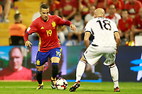 Spain's Rodrigo Moreno (l) and Albania's Arlind Ajeti during FIFA World Cup 2018 Qualifying Round match. October 6,2017.(ALTERPHOTOS/Acero) /NortePhoto.com /NortePhoto.com
