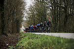 Juraj Sagan (SVK) and Bora-Hansgrohe at the front of the peloton during Stage 3 of the 78th edition of Paris-Nice 2020, running 212.5km from Chalette-sur-Loing to La Chatre, France. 10th March 2020.<br /> Picture: ASO/Fabien Boukla   Cyclefile<br /> All photos usage must carry mandatory copyright credit (© Cyclefile   ASO/Fabien Boukla)