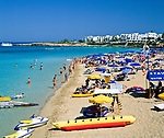 ZYPERN, Sued-Zypern, Protaras: Strand | CYPRUS, South-Cyprus, Protaras: Beach Scene
