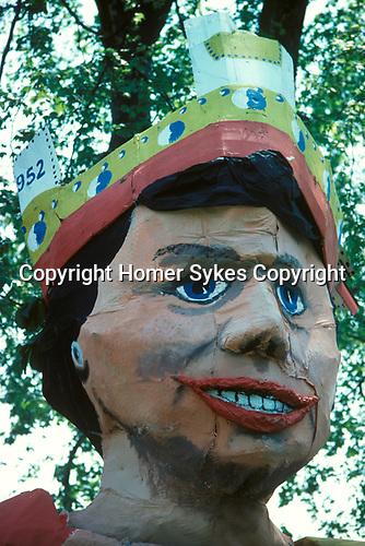 Queen Elizabeth Silver  Jubilee 1977  London UK