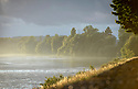 15/06/19 - SAULT BRENAZ - AIN - FRANCE - Le Rhone pres de Sault Brenaz - Photo Jerome CHABANNE