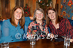 Lisa McDonnell, Cathy O'Brien and Rochelle Harris enjoying the evening in the Ashe Hotel on Saturday.