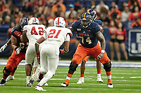 SAN ANTONIO, TX - AUGUST 31, 2019: The University of the Incarnate Word Cardinals fall to the University of Texas at San Antonio Roadrunners 35-7 at the Alamodome. (Photo by Jeff Huehn)