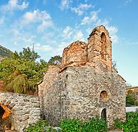 Saint Anargyroi at Nomitsi village in Mani, Greece