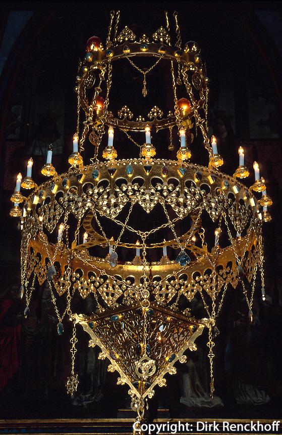 Hradschin, In der Wenzelskapelle des Veitsdom, Prag, Tschechien, Unesco-Weltkulturerbe