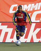 Andy William, MVP in the RSL 2-1 win over FC Dallas at Rice Eccles Stadium in Salt Lake City, Utah on May 10, 2008.