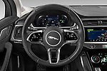 Car pictures of steering wheel view of a 2020 Jaguar I-PACE HSE 5 Door SUV Steering Wheel