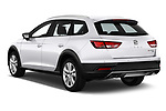 Car pictures of rear three quarter view of a 2017 Seat Leon ST Xperience Base 5 Door Wagon angular rear