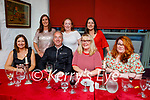 Enjoying the evening in Cassidy's on Friday, seated l to r: Eilish O'Donoghue, Victor Sheehan, Lisa O'Carroll and Louise Mahoney. Back l to r: Joanne Noonan, Breda O'Sullivan and Maria Daly.