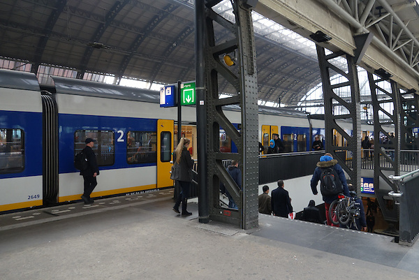 Central Station, Amsterdam, Holland, Netherlands,
