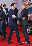 Ty Burrell and Jesse Tyler Ferguson attends Disney's Muppets Most Wanted World Premiere held at The El Capitan Theatre in Hollywood, California on March 11,2014                                                                               © 2014 Hollywood Press Agency