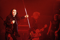 File Photo -  The CULT<br /> in the eighties. Exact date unkonwn.<br /> <br /> photo  : Stephane Fournier<br />  -  Agence Quebec Presse