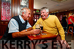 Mike Lenihan and Martin Bracker O'Regan in the Castle bar on Tuesday.