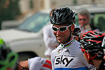 World Champion Mark Cavendish (GBR) Sky Procycling at the start of Stage 1 of the Tour of Qatar 2012 running 142.5km from Barzan Towers to Doha Golf Club, Doha, Qatar. 5th February 2012.<br /> (Photo by Eoin Clarke/NEWSFILE).