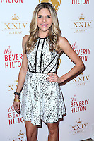 BEVERLY HILLS, CA, USA - OCTOBER 16: Andrea Bogart arrives at the XXIV Karat Launch Party held at the Beverly Hilton Hotel on October 16, 2014 in Beverly Hills, California, United States. (Photo by Xavier Collin/Celebrity Monitor)