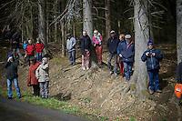 waiting up the Col du Rosier<br /> <br /> 102nd Liège-Bastogne-Liège 2016