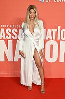 "Monroe Bergdorf<br /> arriving for the London Film Festival screening of ""Assassination Nation"" at the Cineworld Leicester Square, London<br /> <br /> ©Ash Knotek  D3450  19/10/2018"