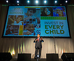 Houston ISD Superintendent Richard Carranza comments during the State of the Schools luncheon at the Hilton of the Americas, February 15, 2017.