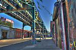 Long Island City Street Scene/HDR