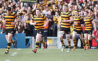 2015 ULSTER SCHOOLS CUP FINAL | Tuesday 17th March 2015<br /> <br /> RBAI during the 2015 Ulster Schools Cup Final between RBAI and Wallace High School at the Kingspan Stadium, Ravenhill Park, Belfast, Count Down, Northern Ireland.<br /> <br /> Picture credit: John Dickson / DICKSONDIGITAL