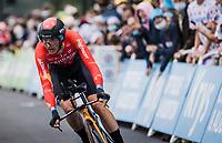 Dylan Teuns (BEL/Bahrain-Victorius)<br /> <br /> Stage 5 (ITT): Time Trial from Changé to Laval Espace Mayenne (27.2km)<br /> 108th Tour de France 2021 (2.UWT)<br /> <br /> ©kramon