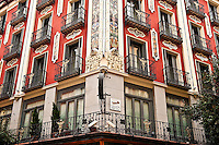 The Petit Palace Posada del Peine, the oldest hotel in Spain, circa 1610, madrid, Spain.