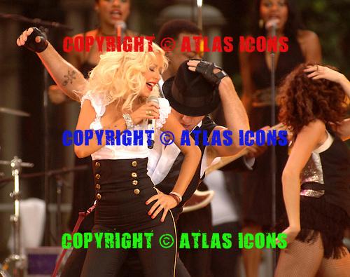 Christina Aguilera;.Photo Credit: Eddie Malluk/Atlas Icons.com