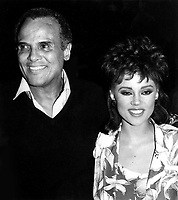 Harry Belafonte Vanessa Williams 1980s Photo by Adam Scull-PHOTOlink.net