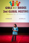 25 June, 2018, Kuala Lumpur, Malaysia : The Opening Plenary session at the Girls Not Brides Global Meeting 2018 at the Kuala Lumpur Convention Centre. Picture by Graham Crouch/Girls Not Brides