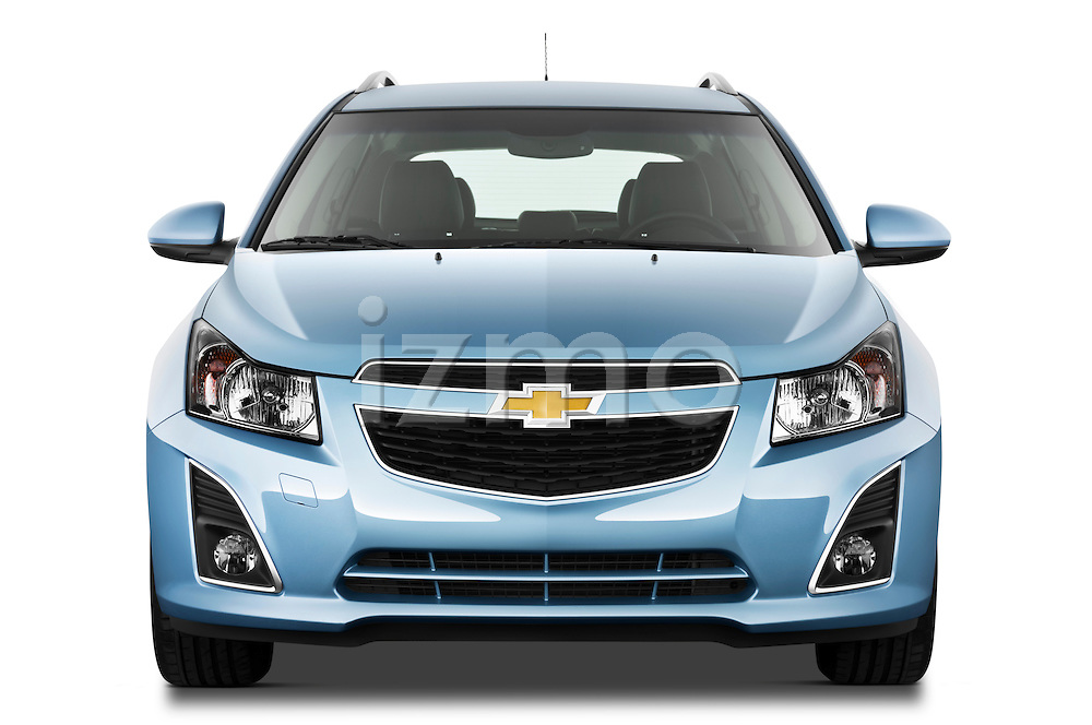 Straight front view of a 2013 Chevrolet Cruze SW LTZ wagon