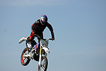 Cyclist competes in Air Show<br /> (3)