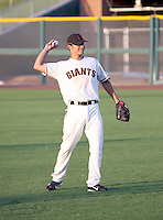 Brandon Crawford / AZL Giants..Photo by:  Bill Mitchell/Four Seam Images