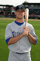 Trenton Thunder Brett Gardner poses for a photo before an Eastern League game at Jerry Uht Park on August 30, 2006 in Erie, Pennsylvania.  (Mike Janes/Four Seam Images)