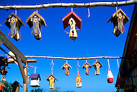 Edgetts Landing, NB, New Brunswick, Canada - Whimsical Folk Art Birdhouses and Bird Feeders for sale at The Bird Garden