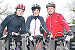 Kerry Crusaders Cycling Club Scenic Challenge: Taking part in the Kerry Crusaders Cycling Club Scenic Challenge on Sunday last were Eilish O'Leary, Caroline Martin & Michael Donovan, Castleisland.