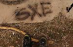 trent feet with sxe straightedge graffiti<br />