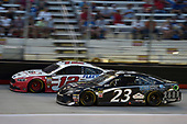 #12: Ryan Blaney, Team Penske, Ford Fusion REV, #23: Blake Jones, BK Racing, Toyota Camry Tennessee XXX Moonshine