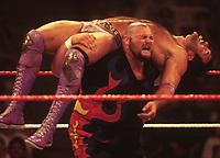Bam Bam Bigelow  vs Razer Ramon 1994<br /> Photo By John Barrett/PHOTOlink