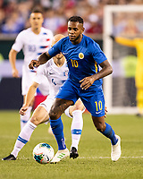 PHILADELPHIA, PA - JUNE 30: Leandro Bacuna #10 during a game between Curaçao and USMNT at Lincoln Financial Field on June 30, 2019 in Philadelphia, Pennsylvania.