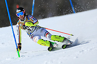 20th February 2021; Cortina d'Ampezzo, Italy; FIS Alpine World Ski Championships, Women's Slalom;   Andrea Filser (GER)