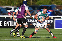 Match action during the Greene King IPA Championship match between Ealing Trailfinders and Cornish Pirates at Castle Bar , West Ealing , England  on 29 September 2018. Photo by Match action Paul Paxford / PRiME Media Images.