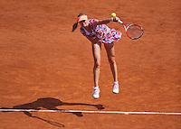 France, Paris, 31.05.2014. Tennis, French Open, Roland Garros,  Ekaterina Makarova (RUS)<br /> Photo:Tennisimages/Henk Koster