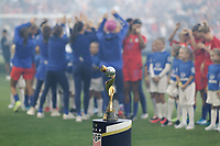 Saint Paul, MN - Tuesday September 03, 2019 : World cup trophy prior to the USWNT 2019 Victory Tour match versus Portugal at Allianz Field, on September 03, 2019 in Saint Paul, Minnesota.