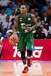 Unicaja Malaga's player Jamar Smith during match of Liga Endesa at Barclaycard Center in Madrid. September 30, Spain. 2016. (ALTERPHOTOS/BorjaB.Hojas)
